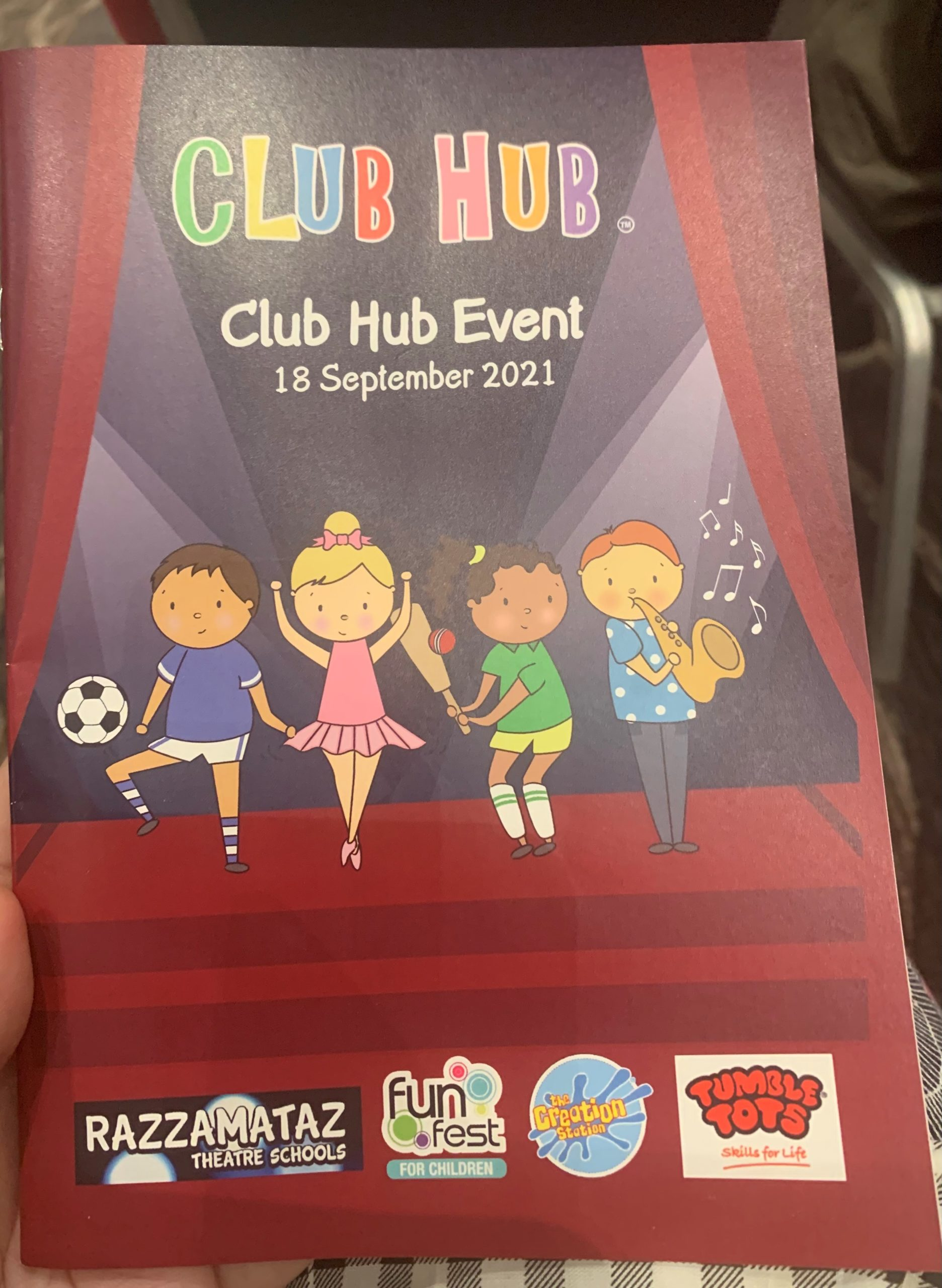 Club Hub Kids Activities Award programme